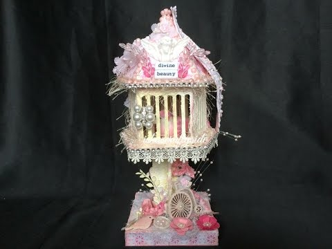 💗Shabby Chic Bird Cage - DT Project for Sa Crafters💗