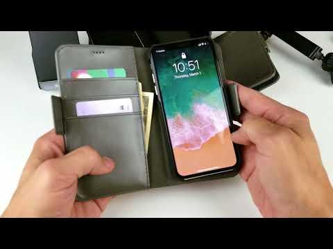 iPhone X: DREEM Wallet Case w/ Detachable Magnetic Slim Case Review