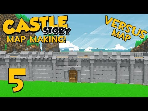Castle Story Making A Versus Map - Part 5 - Wall Design