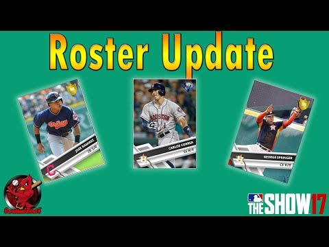 MLB The Show 17 | Roster Update 7.13