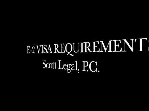 E-2 Visa Requirements - An E-2 Visa can be a Perfect Visa for Starting a Business in the U.S.