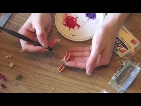 Polymer Clay ~ Hot Dogs Tutorial