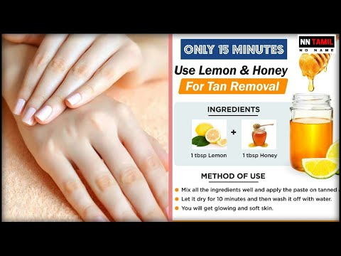 How to remove Sun Tan From Hands and Legs Feet Whitening Pedicure in Tamil within 3 Minutes at Home