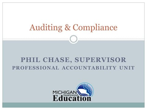 04 Michigan Educator Certification Audits