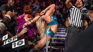 Brawls in the crowd - WWE Top 10