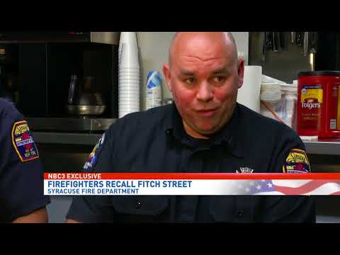 Firefighters recall the intensity and effort to save lives during the Fitch Street fire