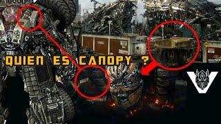 CANOPY Transformers The Last Knight - Origen y teoría de modo alterno