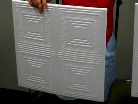 Styrofoam foam ceiling tiles how to Do it yourself design your home and remodeling
