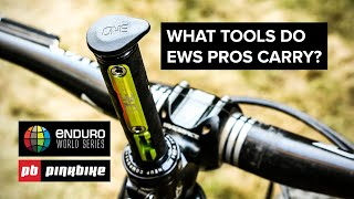 What Tools Do MTB Pros Carry For Enduro Racing?
