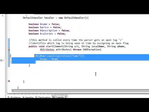 Java - How to read xml file using SAX Parser