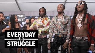 Things Get Heated Between Migos, Joe Budden, and DJ Akademiks at the BET Awards   Everyday Struggle