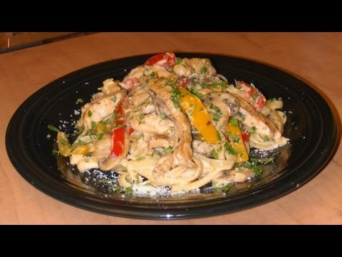 Cajun Chicken Alfredo - Recipe with Michaels Home Cooking