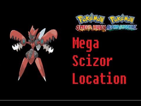 Where To Find Scizorite (Mega Scizor) Pokemon Omega Ruby Alpha Sapphire