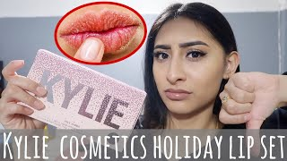 KYLIE COSMETICS HOLIDAY LIP SET *Ulta Exclusive* 2019 | FIRST IMPRESSION + REVIEW