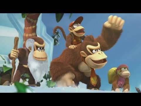 Donkey Kong Country Tropical Freeze - Final Boss + Ending