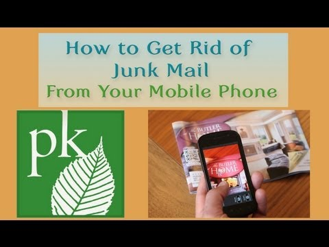 How to Get Rid of Junk Mail With Your Mobile Phone