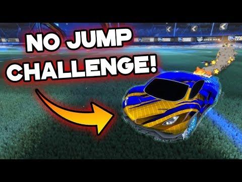 NO JUMP CHALLENGE! | Rocket League