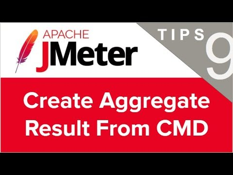 JMeter Beginner Tutorials | Tips n Tricks 9 💡 How to Create Aggregate Result csv from command line