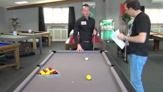 What do amateurs do wrong playing pool?