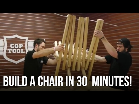 Easy Build Project - Kentucky Stick Chair - Cordless Circular Saw Test