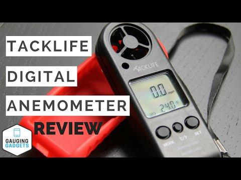 Tacklife Digital Anemometer Review - Handheld Wind Speed Gauge