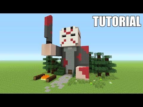 Minecraft Tutorial: How To Make A Jason Voorhees