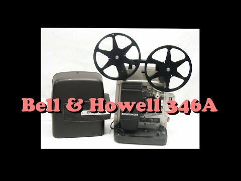 How to Thread a Bell & Howell 346A Super 8mm Projector Demo