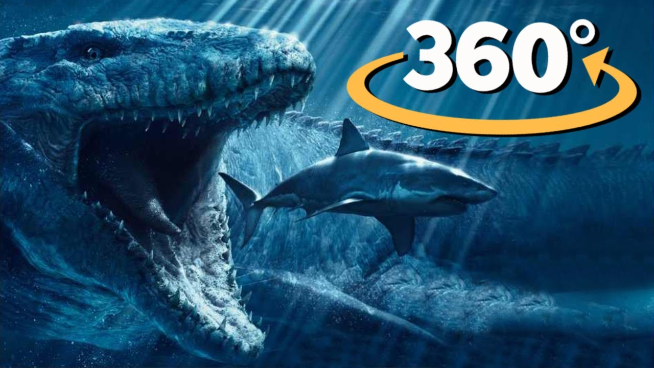 VR Virtual Reality 360: Monsters from the Deep