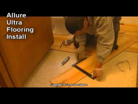 Allure Ultra Bathroom Floor Install