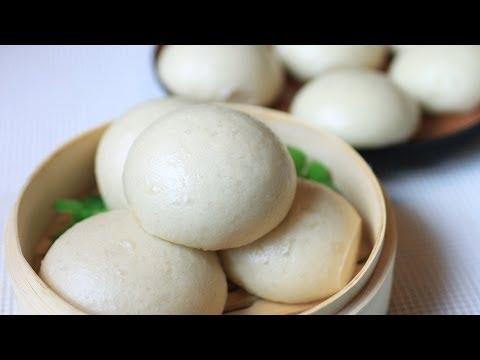 手工馒头/Chinese Bread Buns / Mantou 蒸馒头