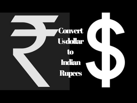 How To Convert Us Dollar Indian Rus Tamil