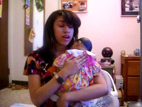 Burping the realcare baby