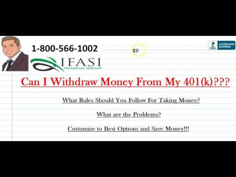 Can I Withdraw Money From My 401k - When Can i Withdraw Money from My 401k