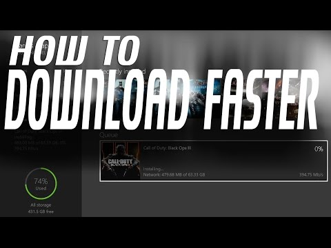 XBOX ONE - Download Speed | Tutorial