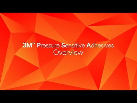 3M™ Pressure Sensitive Adhesives Overview