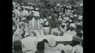 Mahatma Gandhi 1869-1948 (Real footage of Gandhi)
