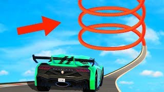 IMPOSSIBLE 100 MILE SPIRAL TO SPACE! (GTA 5 Funny Moments)