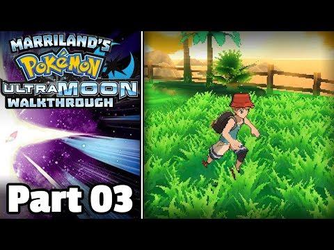 Pokémon Ultra Moon Walkthrough, Part 03: Route 1
