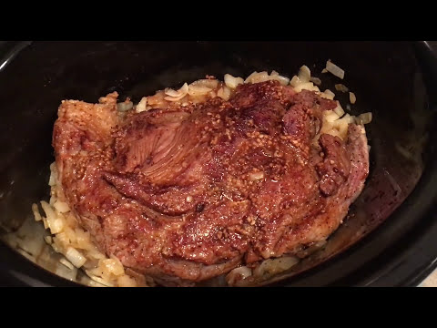 Cooking a Chuck Roast in the Crock Pot