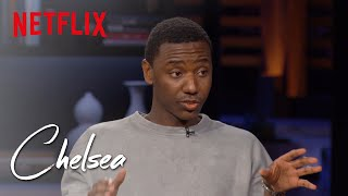 Jerrod Carmichael on the Sensitivities of Gun Violence on TV | Chelsea | Netflix