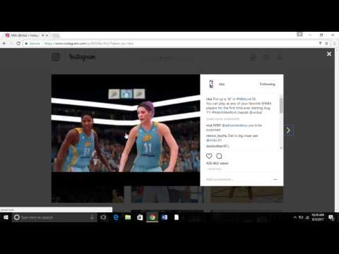 NBA LIVE 18 Will Have Female Characters - Female Characters Comfirmed