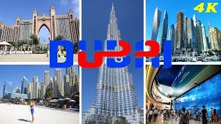 DUBAI - UNITED ARAB EMIRATES 4K 2018 BEST ATTRACTIONS THINGS TO DO SEE