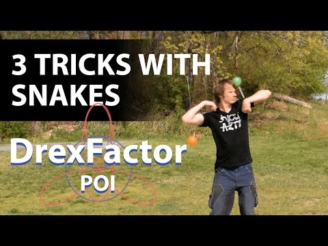 3 Tricks you can do with Poi Snakes