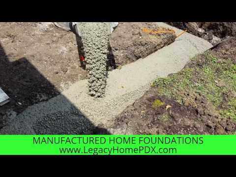 Mobile Home Foundation Certification type cost-Oregon