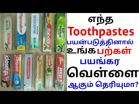 Top 15 Toothpastes in India Ranked from Worst to Best