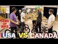 Game Of Team BIKE: USA Vs. CANADA!