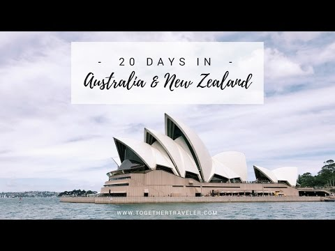 20 Days in Australia and New Zealand