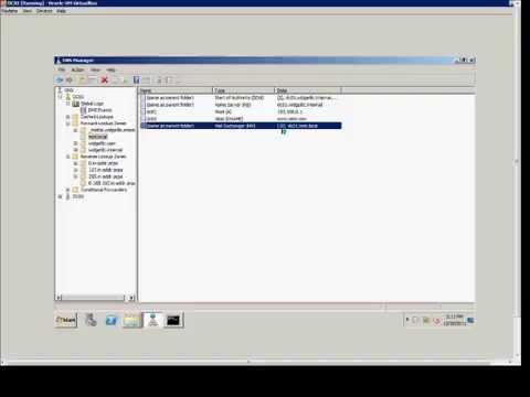 How to create an MX (or mail) record is a Windows 2008 DNS server