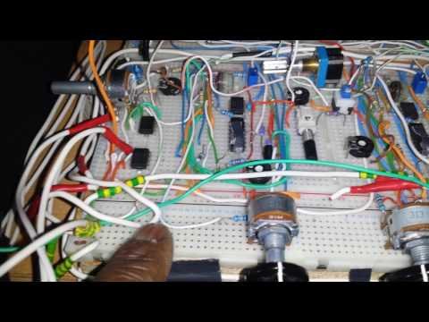 DIY analog synth project Tutorial Part 8  (CV and Gate input voltages.)