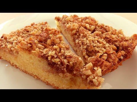 Apple Cinnamon Walnut Cake - Turkish Apple Pie Cake